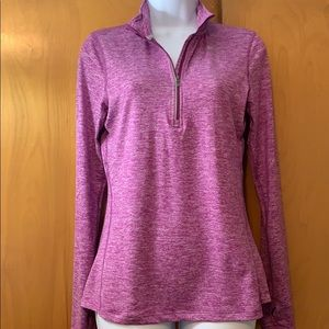 Nike 1/2 zip dri-fit long sleeve running top